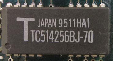 TC514256BJ-70 9511HAI