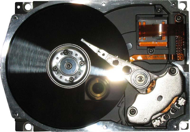 внутренности и устройство Seagate ST3660A