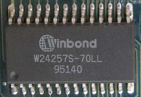 Winbond W24257S-70LL
