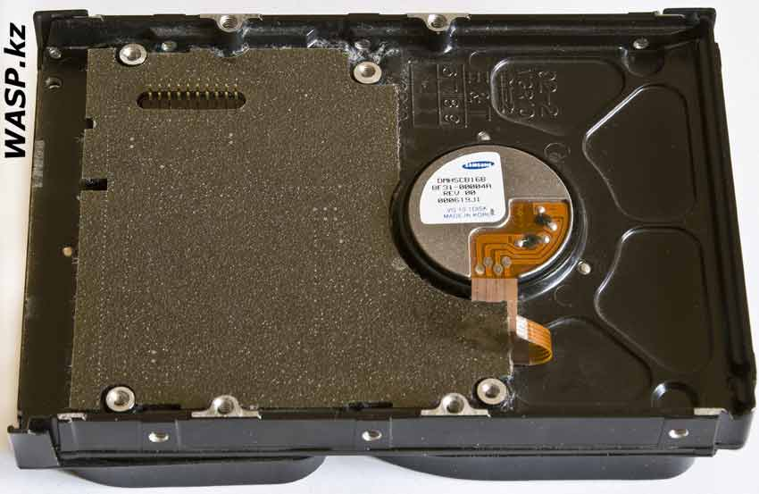 Samsung SpinPoint SV0761D замена электроники HDD