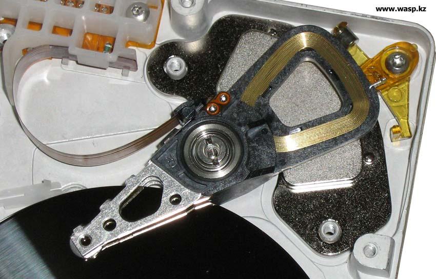 Жесткий диск WD Caviar 2540 управление