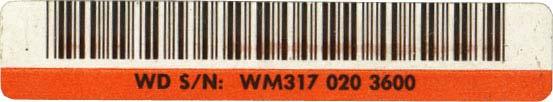 WM317 020 3600