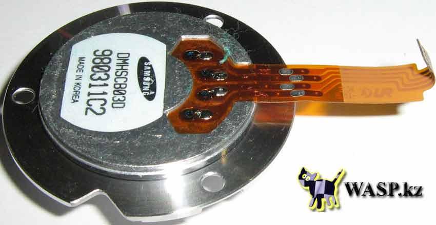 Samsung DMHSCB03D двигатель в WU32163A