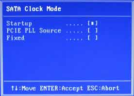 SATA Clock Mode настройка SATA Colorful C.P35 X3 Ver2.0