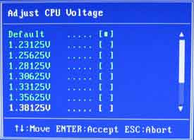 Adjust CPU Voltage вольтмоддинг Colorful C.P35 X3