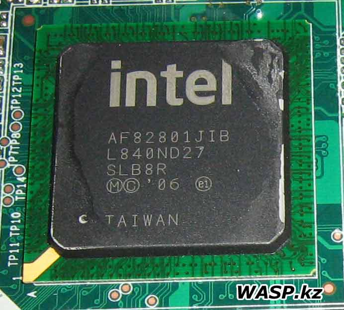 Intel AF82801JIB L840ND27 ECS Elitegroup IC43T-A