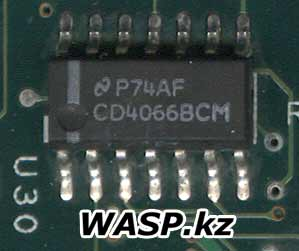 P74AF CD4066BCM чип Quad Bilateral Switch