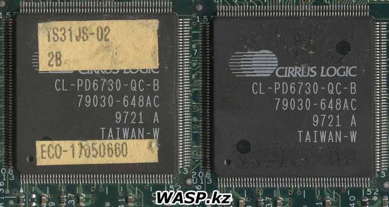 TS31JS-02 и Cirrus Logic CL-PD6730-QC-B 79030-648AC