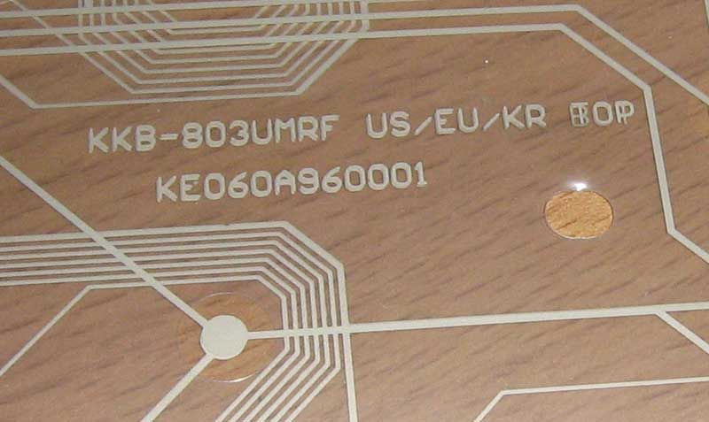 Goldcorp KKB-803UMRF US/EU/KR