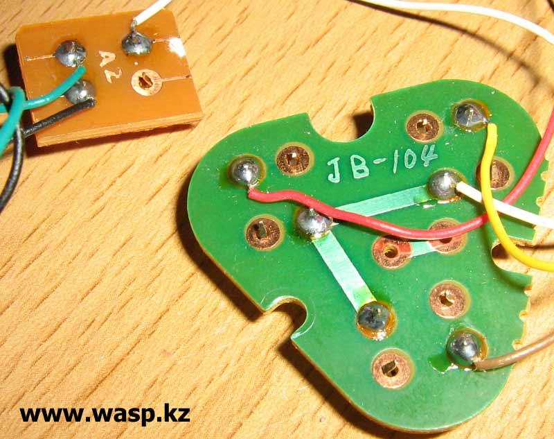 Genius JP-104 схема плат электроники JB-104