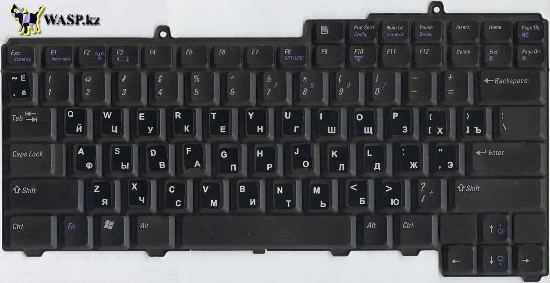клавиатура K051125X или ONC929 для ноутбуков Dell