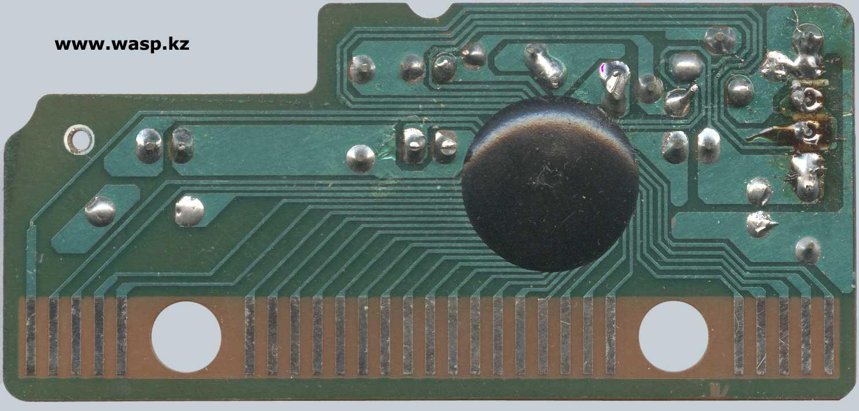 плата электроники в Turbo-Spero KX-3801 схема и ремонт