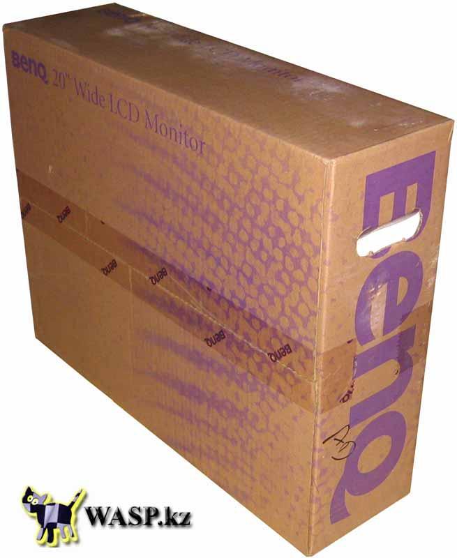 BenQ FP202W упаковка мониторов