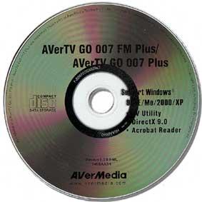 драйвера на AverTV GO 007 FM Plus