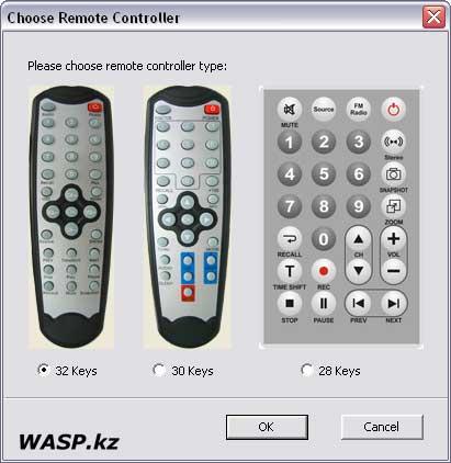 настройка Remote Controller
