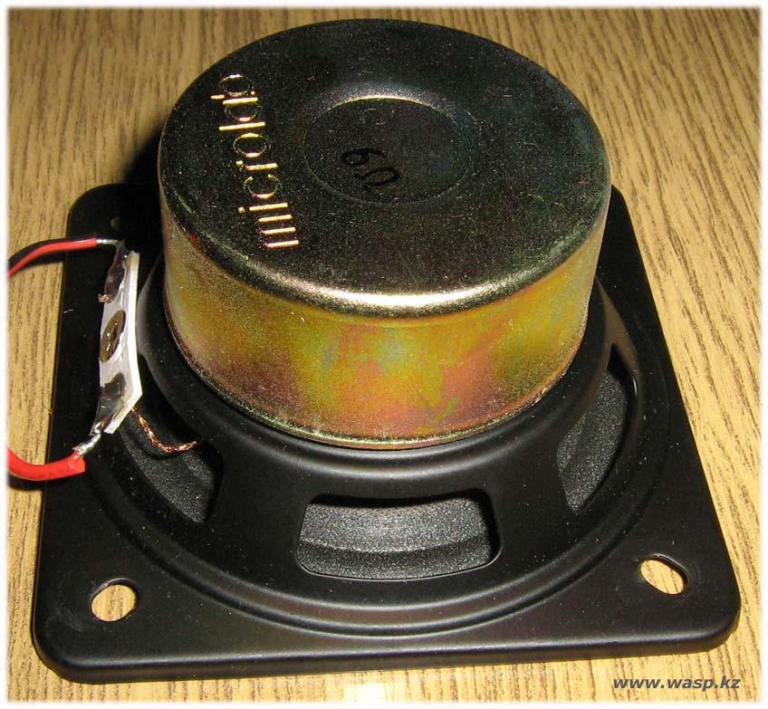 Динамик Microlab со стороны магнита