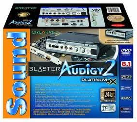 sound bkaster Audigy2 platinum EX