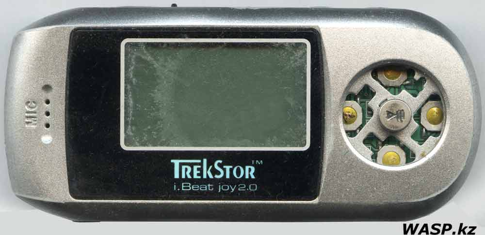 TrekStor i.Beat joy2.0 обзор MP3 плеера
