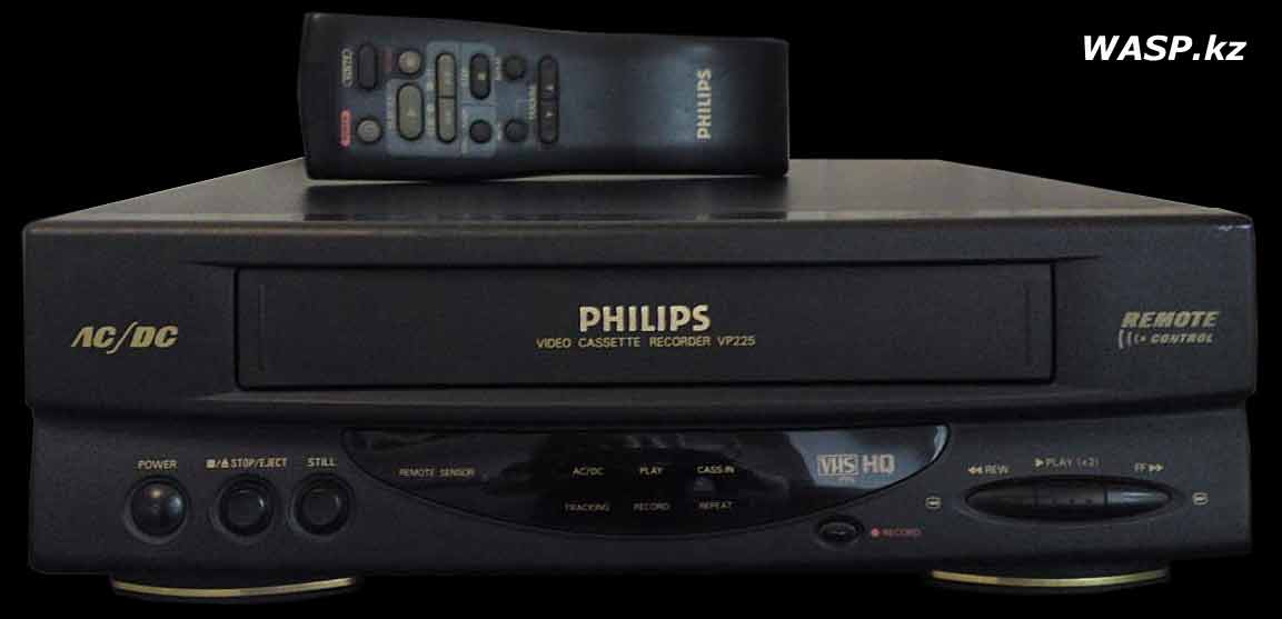 видеомагнитофон PHILIPS VP225/58 полное описание
