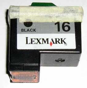 Black 16 Lexmark