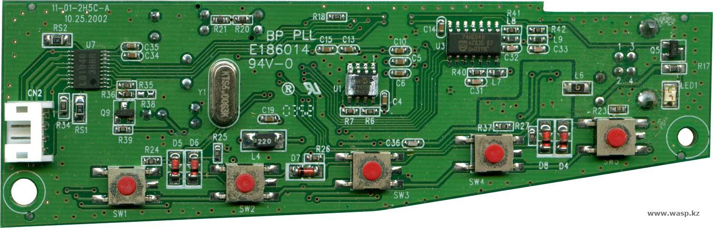 BP PLL E186014 - электроника сканера Genx