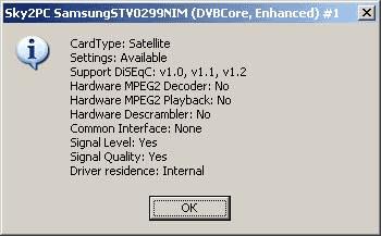 Samsung STV0299NIM устройство