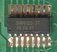 BW6122-2T чип для пультов дистанционного управления