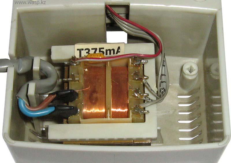 MT21P, MT22P, MT24P блок питания T375mA