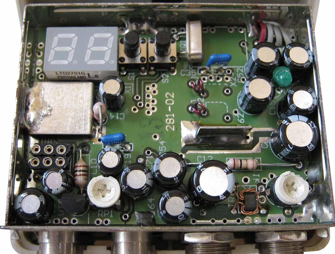 Terra TV modulator MT21P, MT22P, MT24P схема модулятора