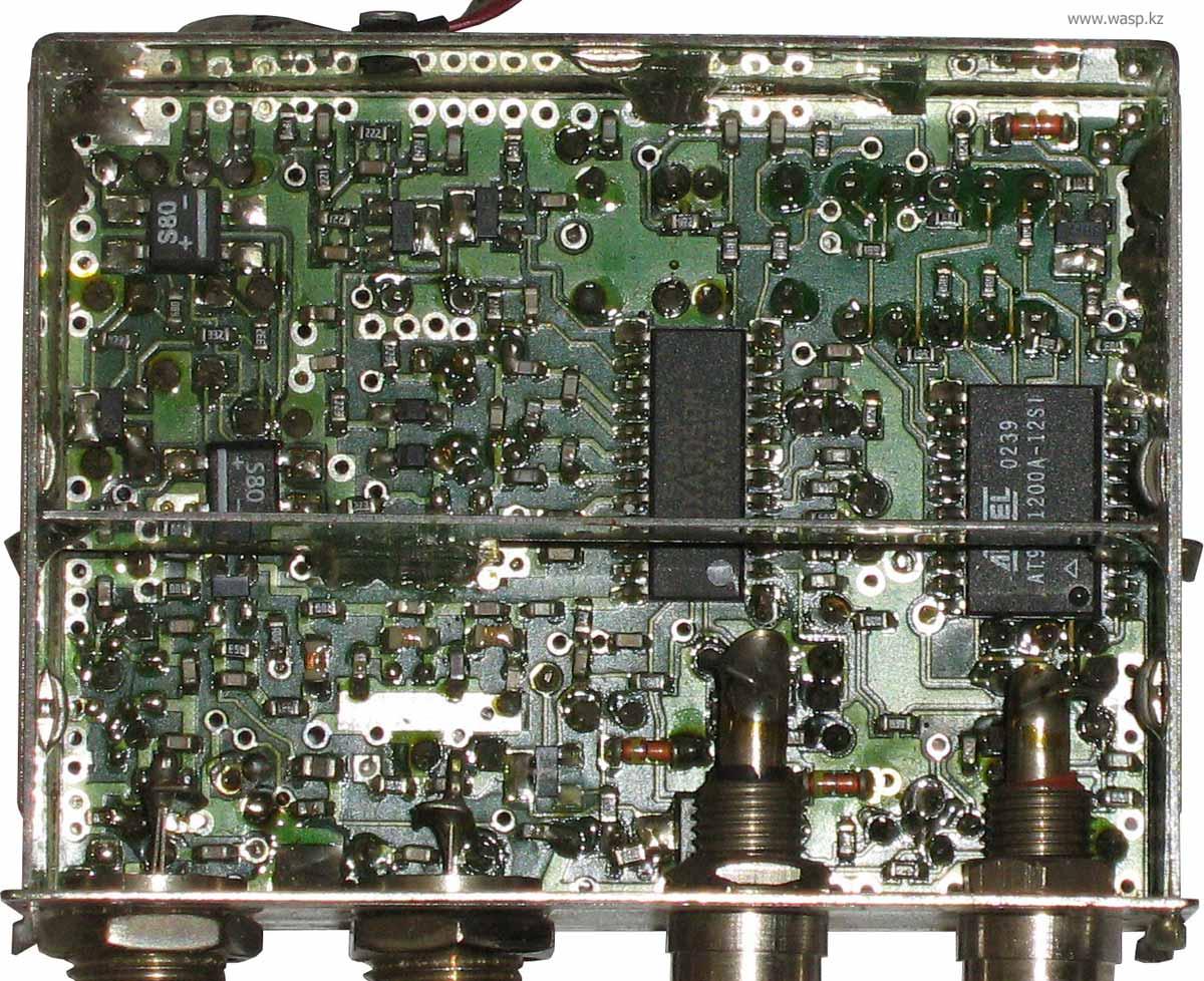 Terra TV modulator MT21P, MT22P, MT24P печатная плата и электроника