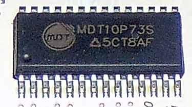 MDT10P73S микроконтроллер в зарядке Нокиа