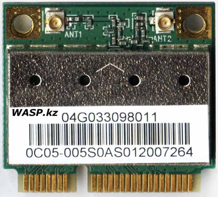 AzureWave 802.11 b/g PCI Express Half Mini Card