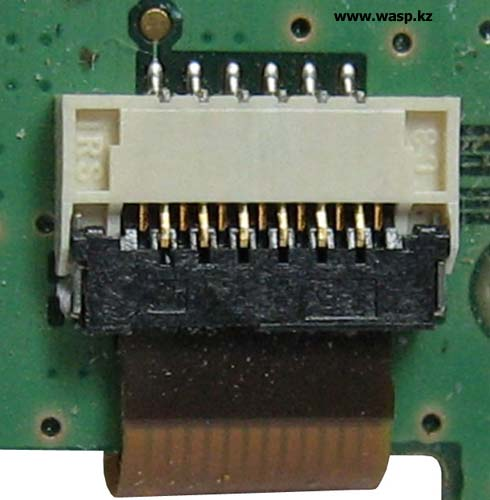 Разъем LCD 3-wire SPI interface IMSA-9671S-13Y902 (ENQY0013801)