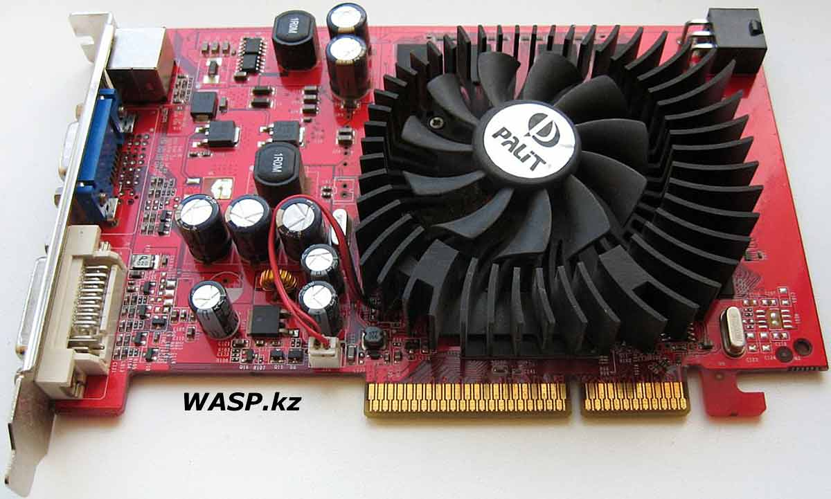 Palit GeForce 7300GT AGP 8x обзор видеокарты