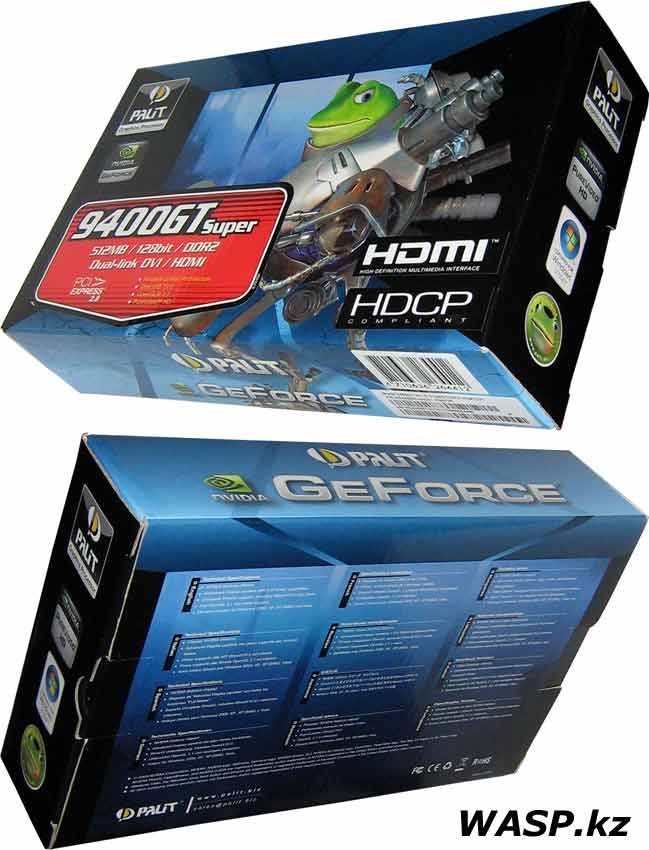 Palit GeForce 9400GT Super HDCP обзор