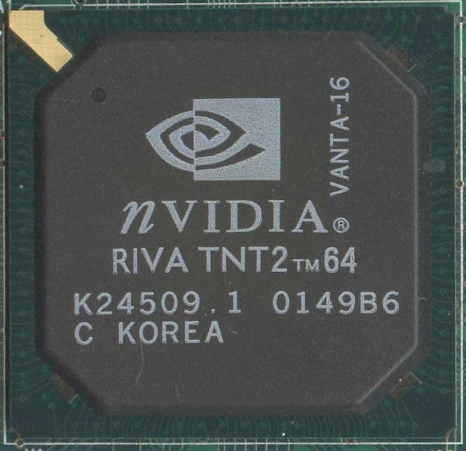 nVidia Riva TNT2 M64 Vanta