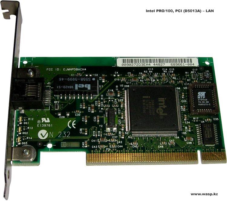 Intel PRO/100, PCI (D5013A) – LAN