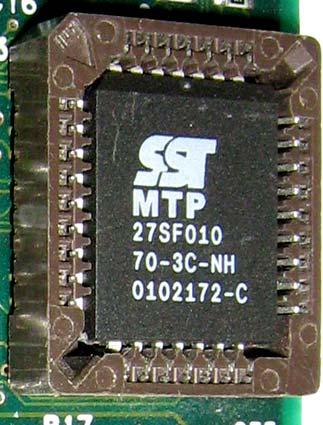 MTP 27SF010 микросхема