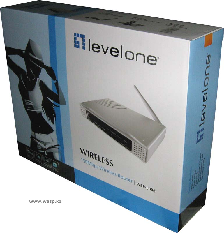 Wi-Fi роутер WBR-6006 Ver. 1.0 от Levelone