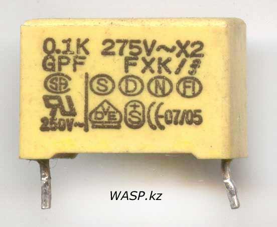 GPF FXK capacitor
