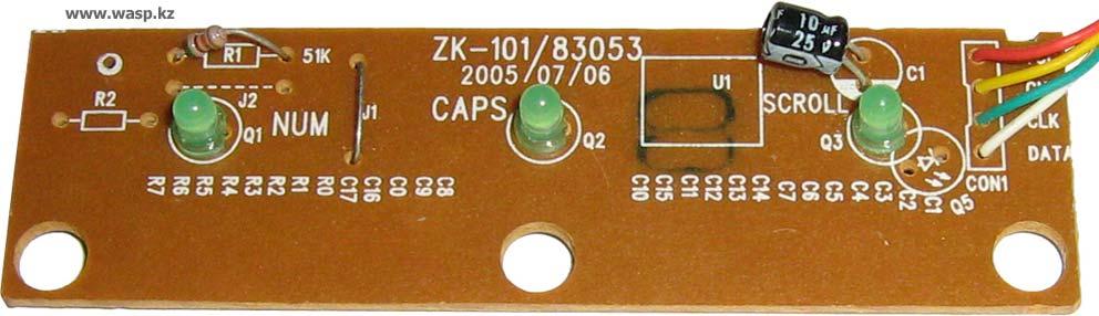 Samsung – ZK-101/83053 плата электроники