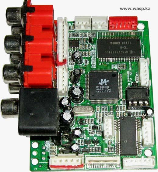 Плата DVD-плеера LZX1389 2CH V1.1