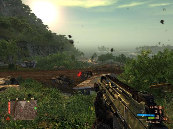 Crysis Warhead расстрелл