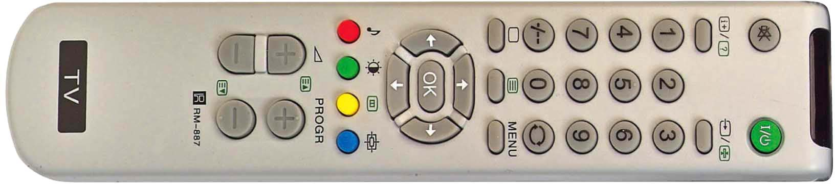 Sony TV RM-887