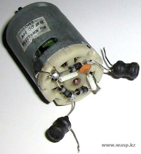 Электродвигатель EMC 36V RWRS385S