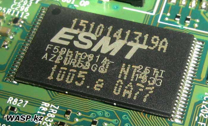 ESMT F59L1G81A-25TI Nand Flash память, чип